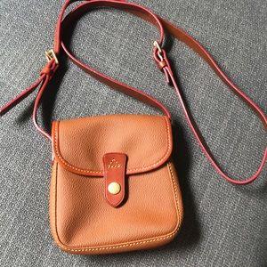 Dooney & Bourke pebble leather small crossbody bag